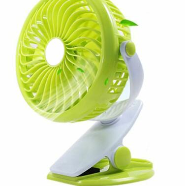 Hot selling easy to carry DC 5V rechargeable li-ion battery USB mini fan
