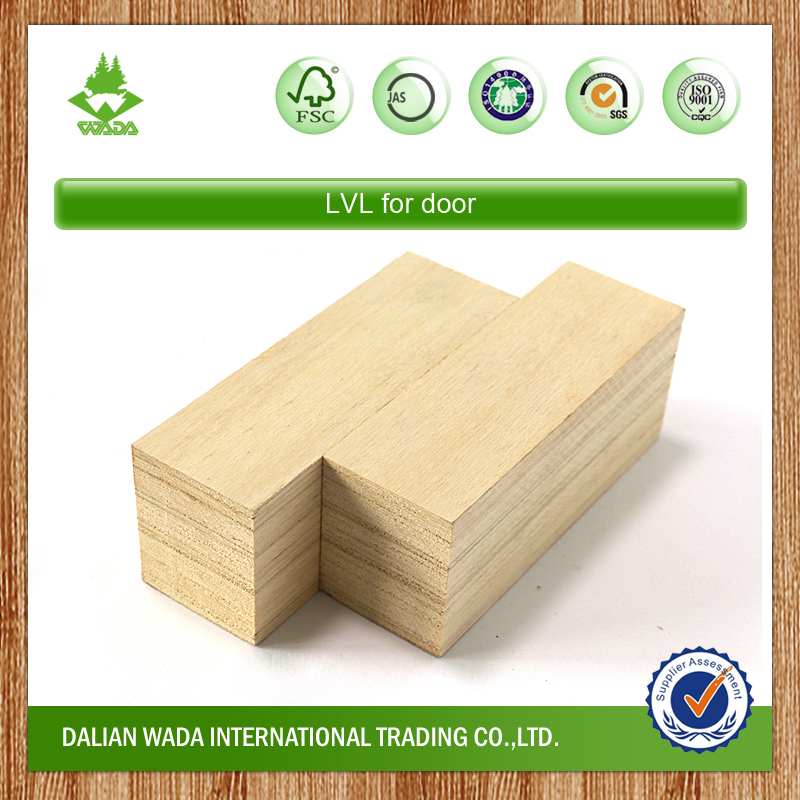 China Poplar LVL for door core material
