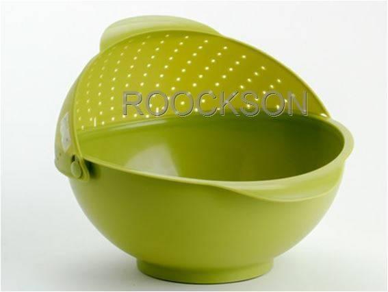 Vegetable Washer  Basket Wash Dish Drop
