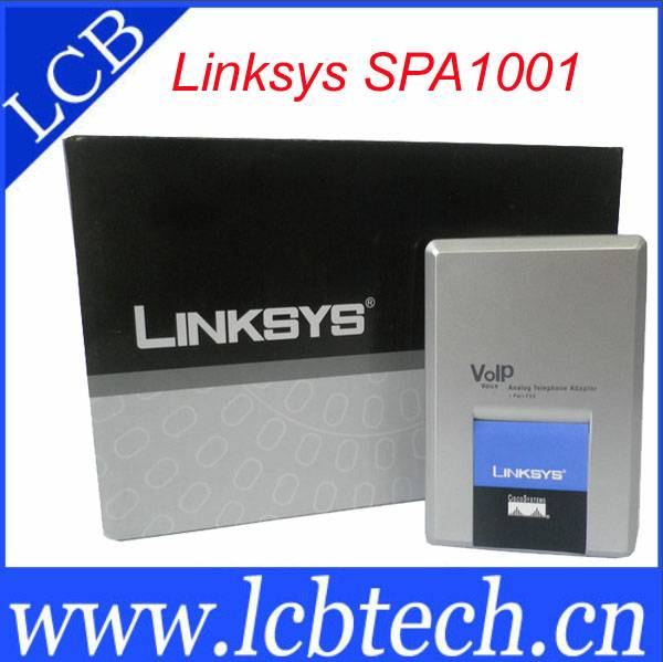 Linksys voip phone adapter SPA1001