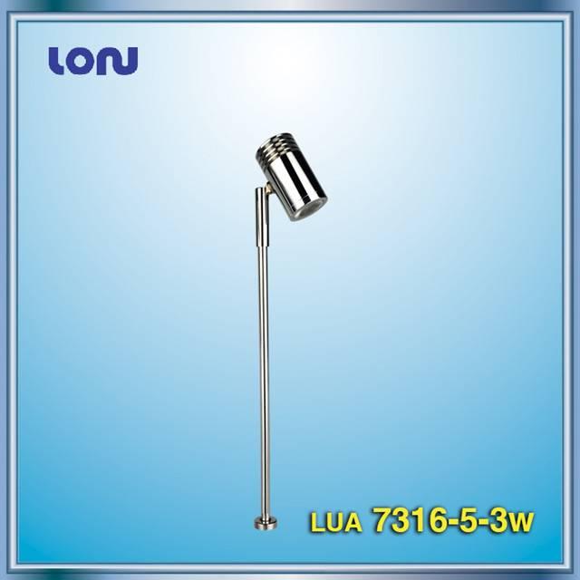 LUA7316-5-3W LED Standing Spotlight, LED Showcase Lights, LED Cabinet Lights