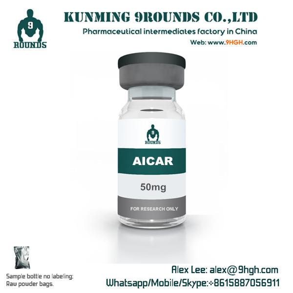 Aicar 50mg Sample powder Bottle, Bulk powder in bags