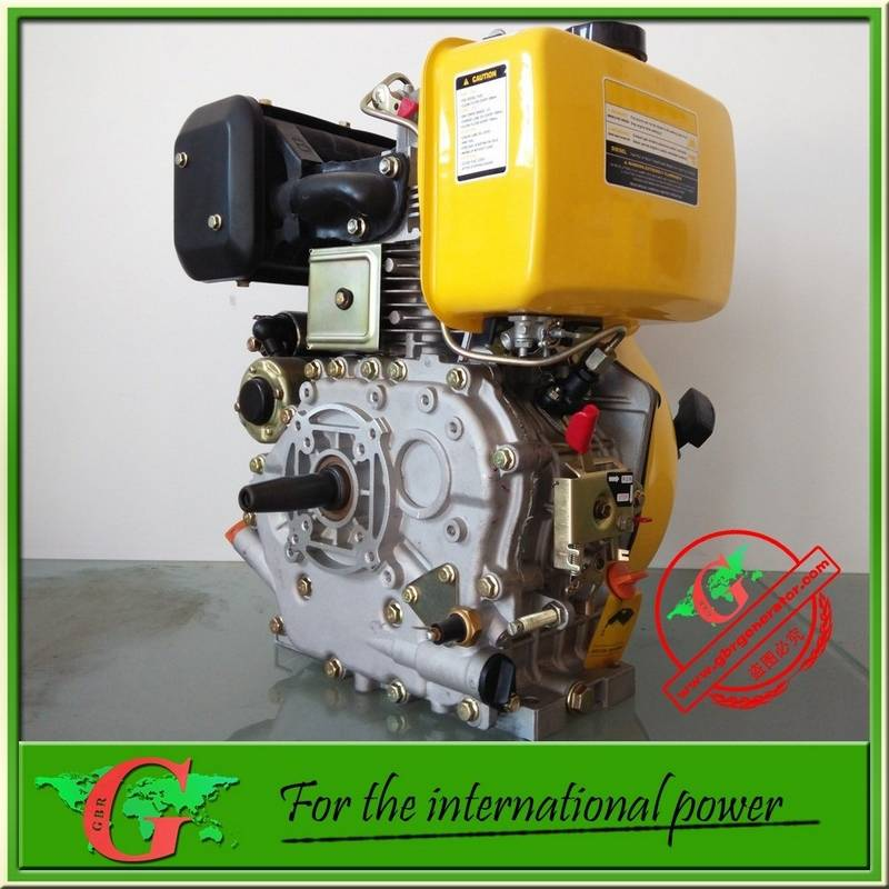 5Hp 7Hp 10Hp Diesel engine motor single cylinder air cooled 3000rpm or 3600rpm from GBR company