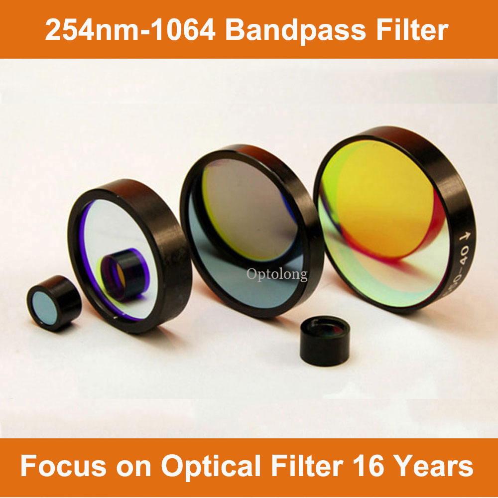 Color Filter 365nm Optical Bandpass Filter Bandpass for Microplate Reader