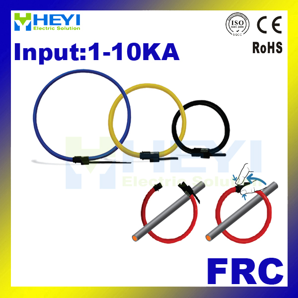 HEYI rogowski coil FRC-210/350/420/510/600/800 with BNC or integrator split core CT rope