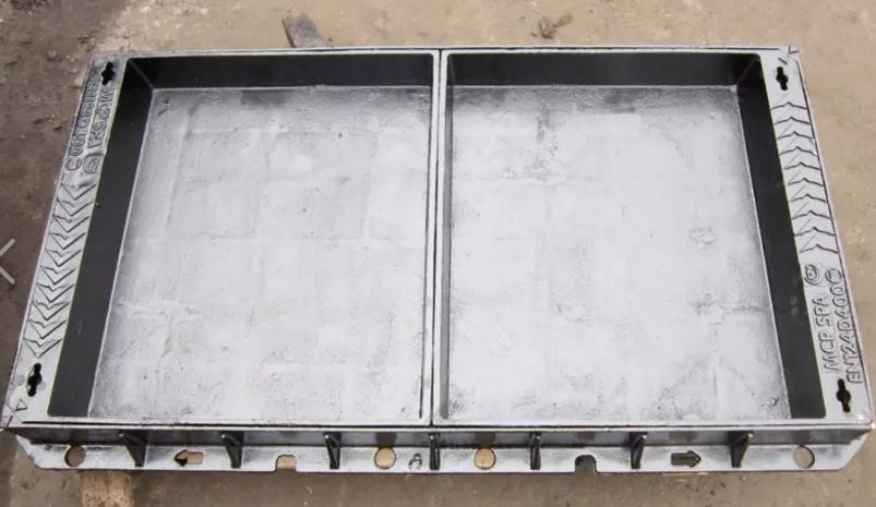 Cast ductile iron filling cover