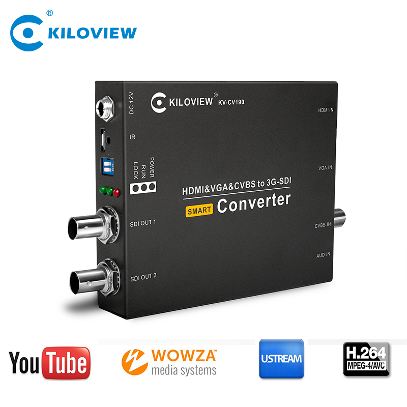 HDMI&VGA&CVBS-SD/HD/3G SDI Multifunction Video converter
