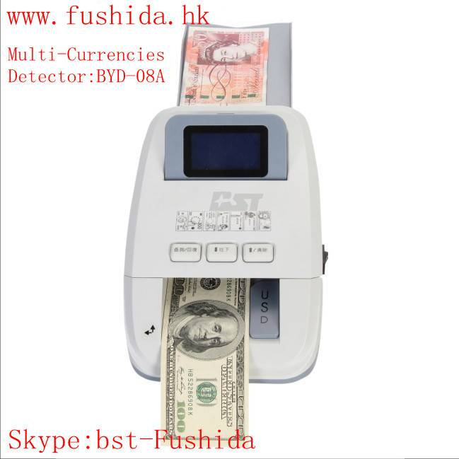 UV detectors Bill detector Money detector Banknote detector Currency detector,skype:bst-fushida