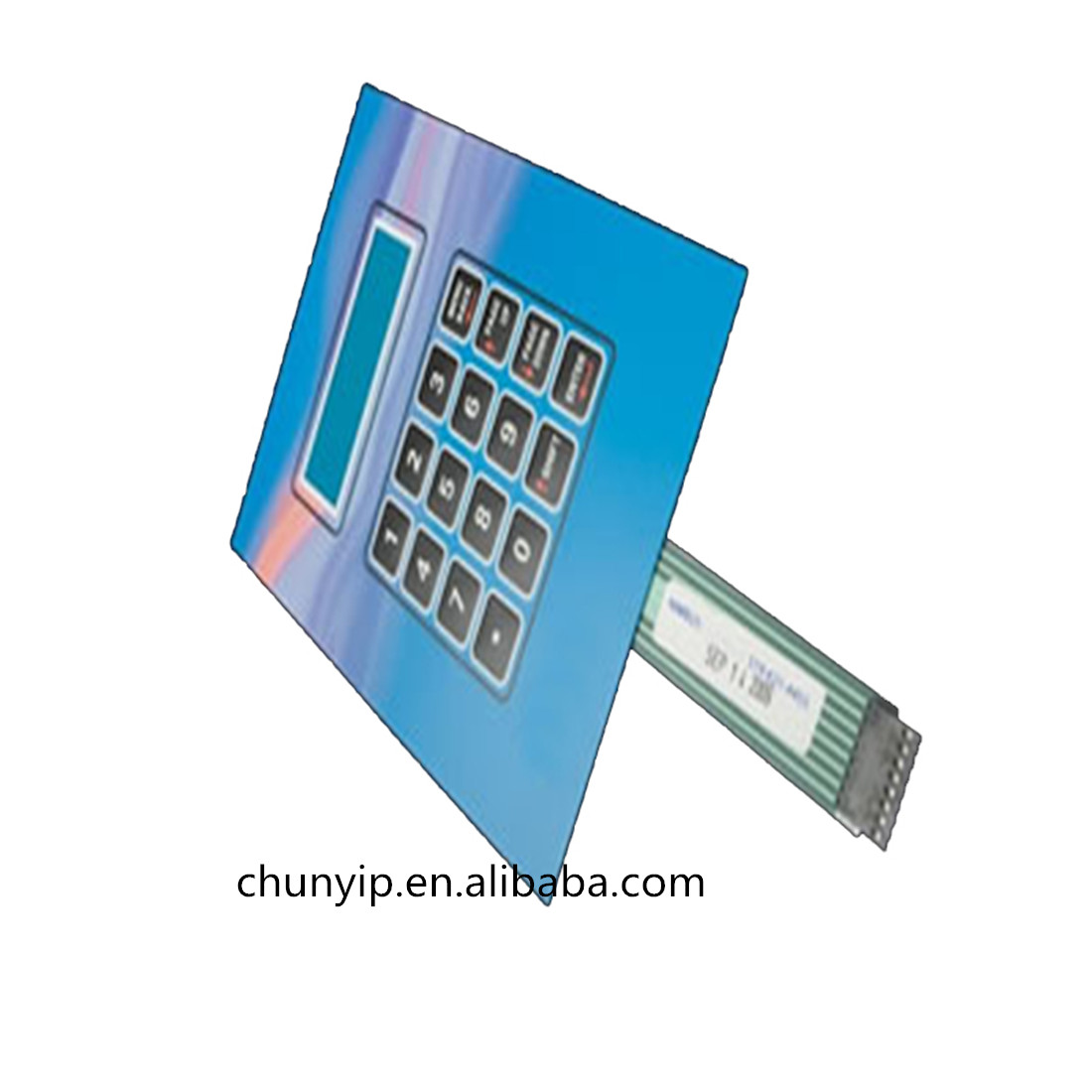 touch graphic overlay membrane switch