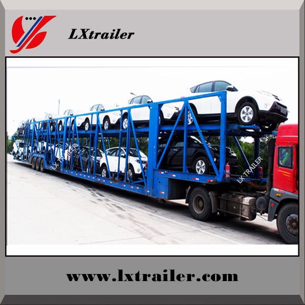 2017 China suppiler car transport trailer cars carrier trailer