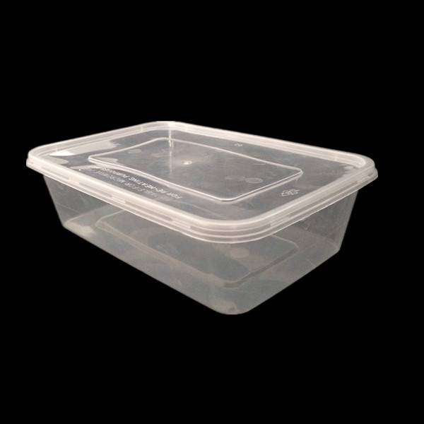 Microwaveable Plastic Lunch Container 650ml