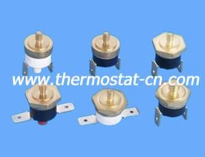 KSD301 copper head thermostat with M4 screw