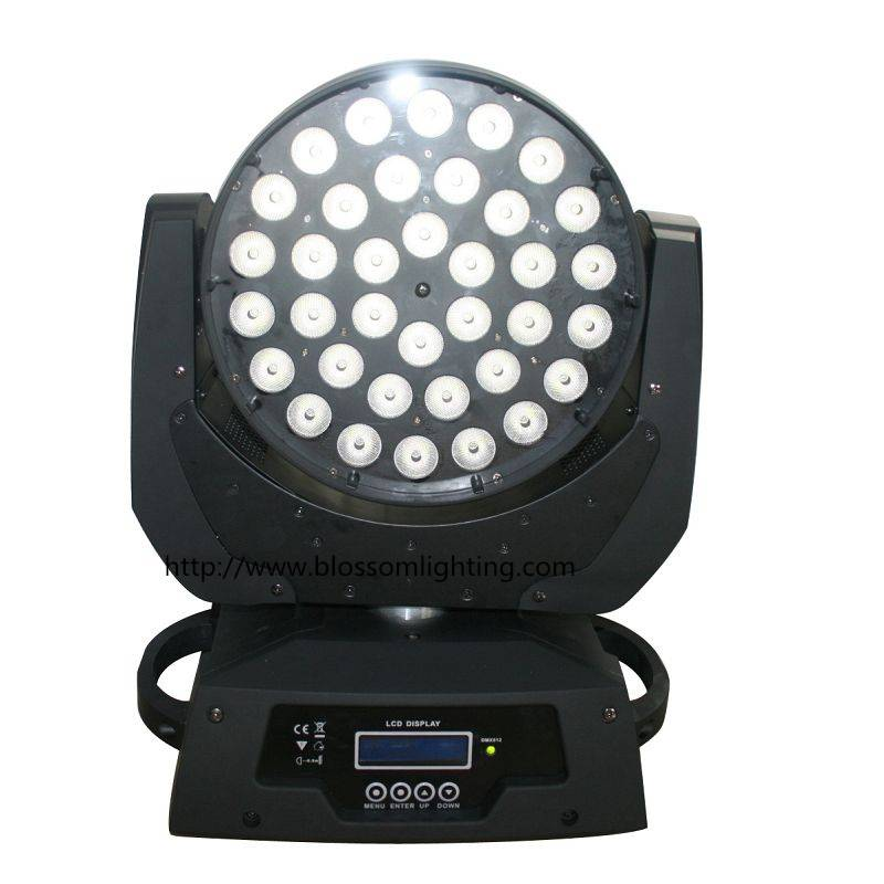 36x10W RGBW 4IN1 Led moving head wash light BS-1001