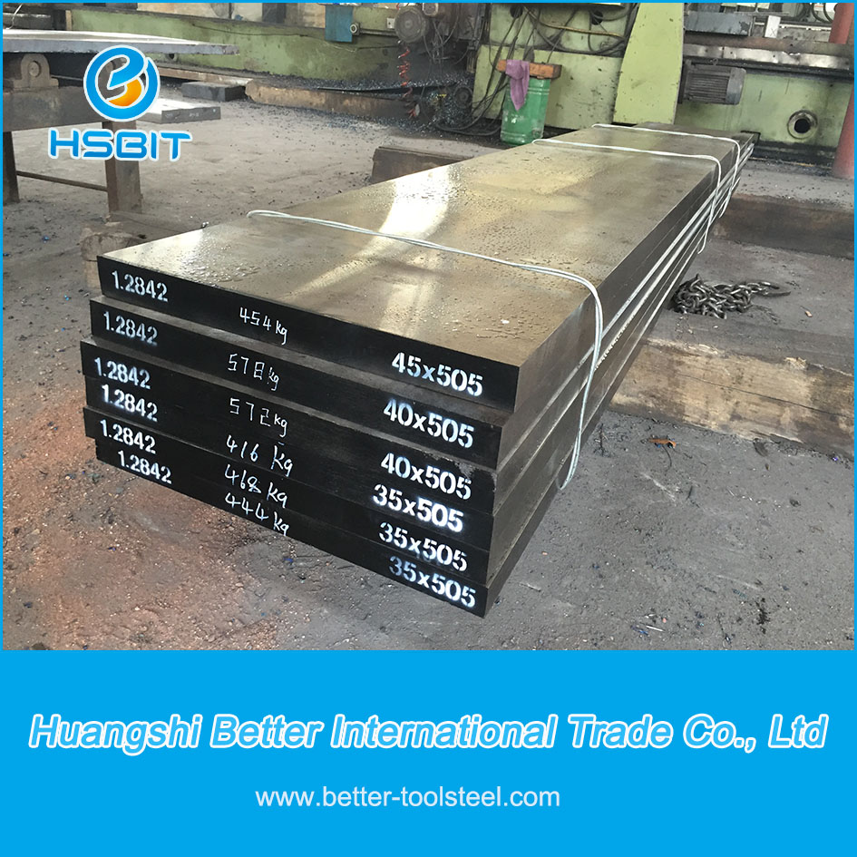1.2842 cold work tool steel flat bars