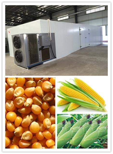 hot air maize dryer, maize dehydrator Machine, hot air dryer basic on heat pump technology.