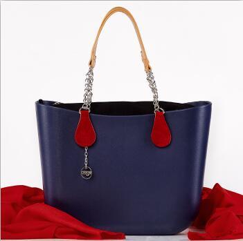bag New Eco Material EVA Zipper Bags With Packing obag handbag