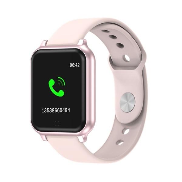 Smartwatch Healthy Fitness Tracker Heart Rate Waterproof Bluetooth Activity Smart Watch
