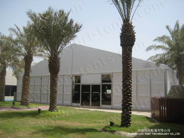 20m Width Big Tent as Hotel with Solid Wall for Sale in Kuwait