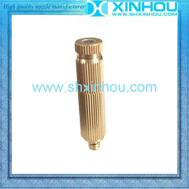 High pressure water mist nozzle for garden hose