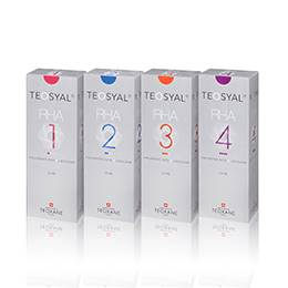Teosyal RHA ,Teosyal Deep Lines, Teosyal Touch Up,Teosyal Global Action,Teosyal First Lines,Teosyal
