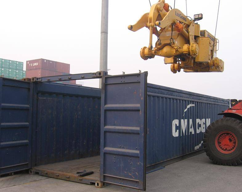international logistics/open top container/oversize cargo