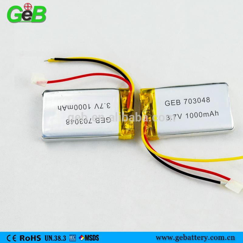 Rechargeable Lipo Polymer Llithium Battery Batteries for PDA/ Digital Camera gb t18287-2000 3.7V Li-