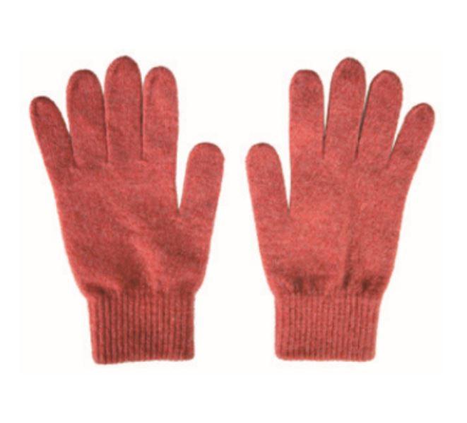 Various MELANGE Fabric Premium Lamb Wool Gloves 5 Conductive Fingertips Various colors