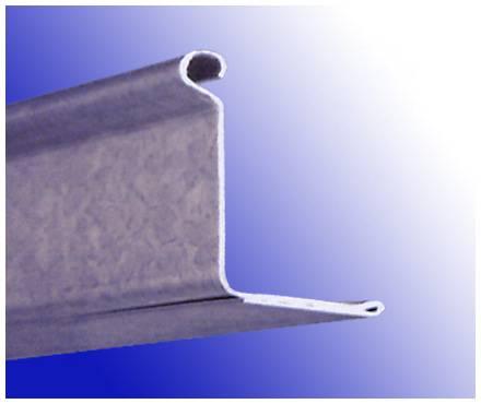 Galvanized Steel Bottom Rail for Roller Shutter Doors