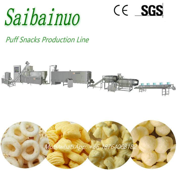 Quality Puff Snacks Food Machine Production Line