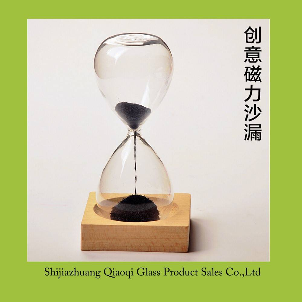 Cheap selling magnetic sand timer for home decoration