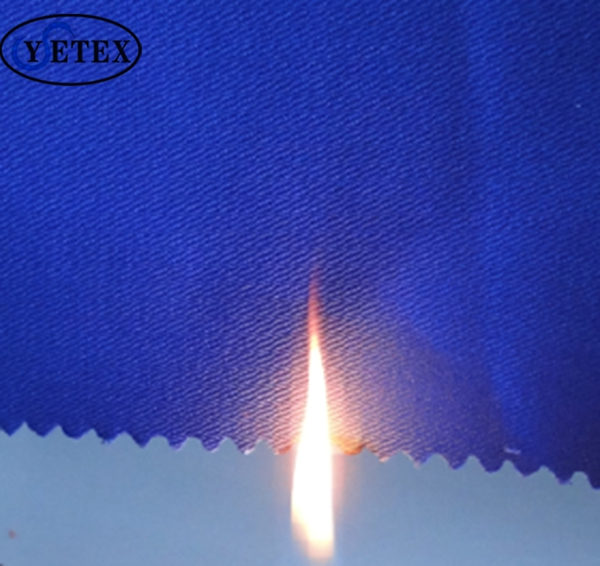 EN11612 flame retardant FR fabric 100 cotton 260g