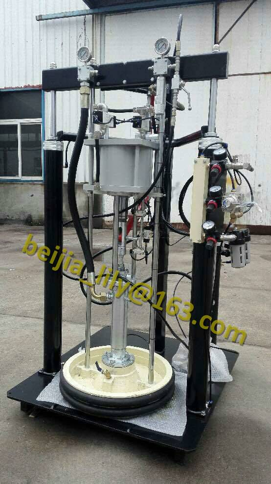 Insulating glass 2 component sealant sealing machine for insualting glass producing line