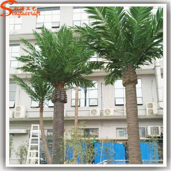 Guangzhou artificial palm tree plastic palm trees