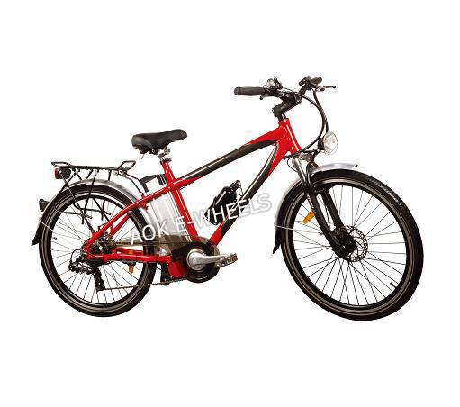 Aluminum Frame Electric Bicycle with Lithium Battery (TDE-015)