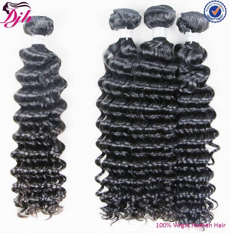 100% Unprocessed Full Cuticle Tangle Free Deep Wave 7a Grade Brazilian Virgin Hair