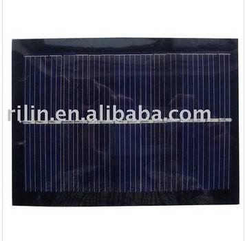 Epoxy-resin encapsulated monocrystalline silicon solar panel 1W