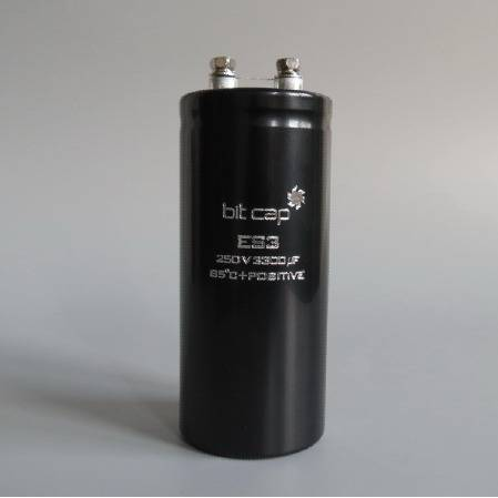 ES3 250v 3300uF aluminum electronic capacitors
