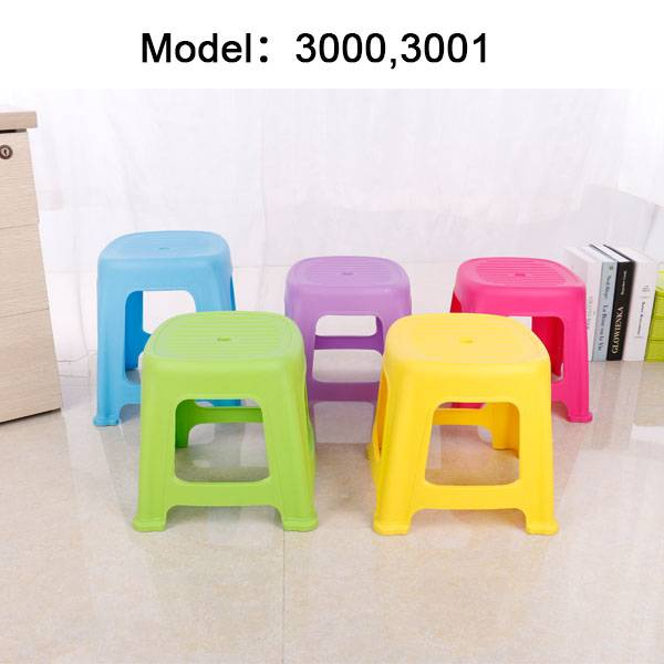 Safety and anti-slip baby plastic stool
