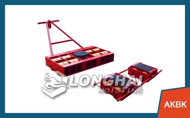 Steerable machine skates details