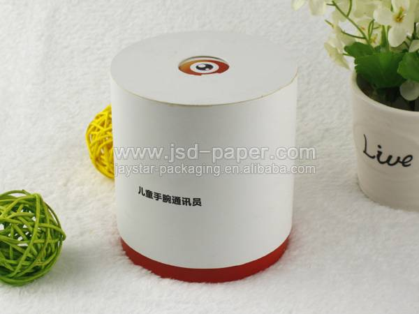 GB-L092 round hat box design wholesale watch box