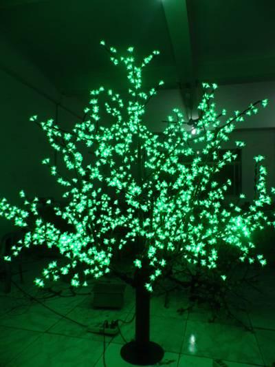 LED Christmas Cherry Tree Light
