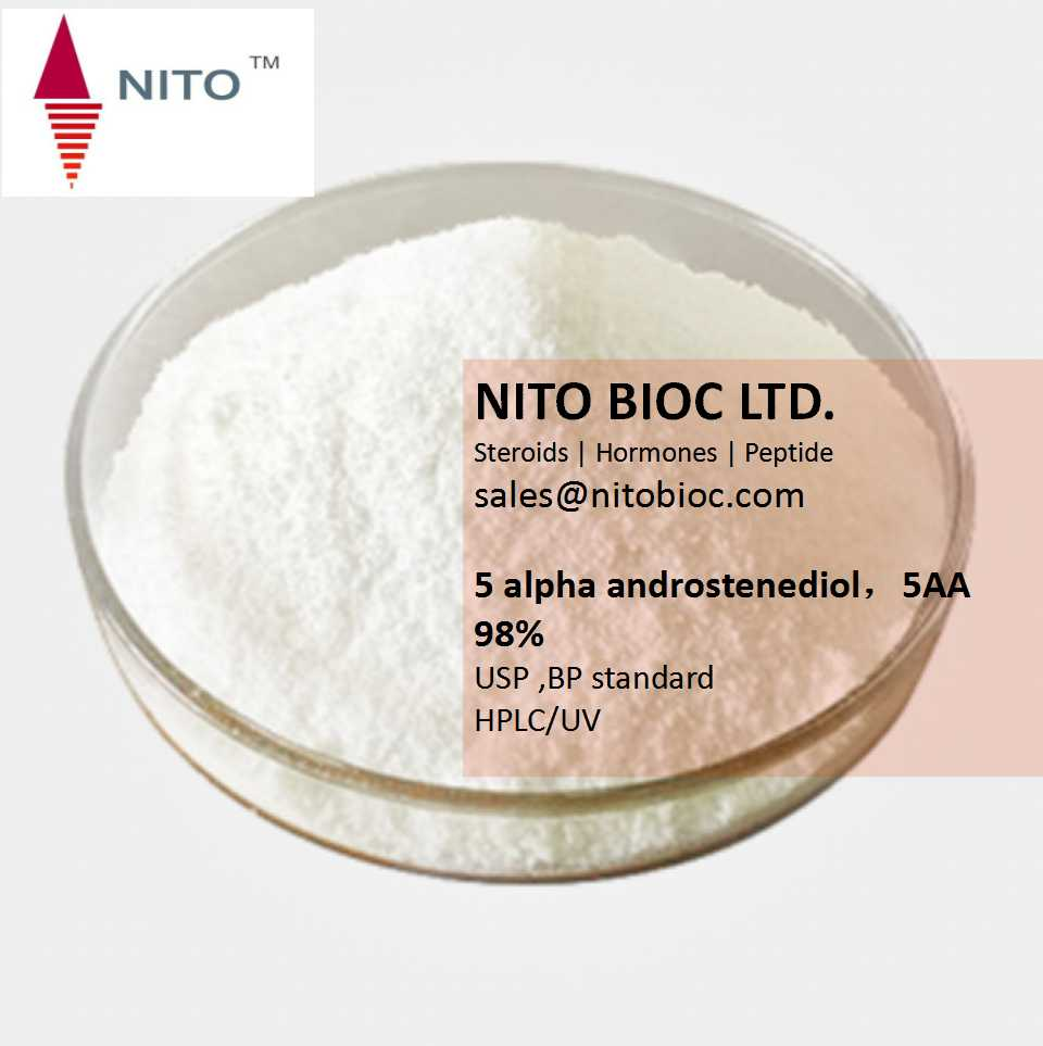 Factory Quality Control, Strong Intermediate Powder: 5 alpha androstenediol,5AA