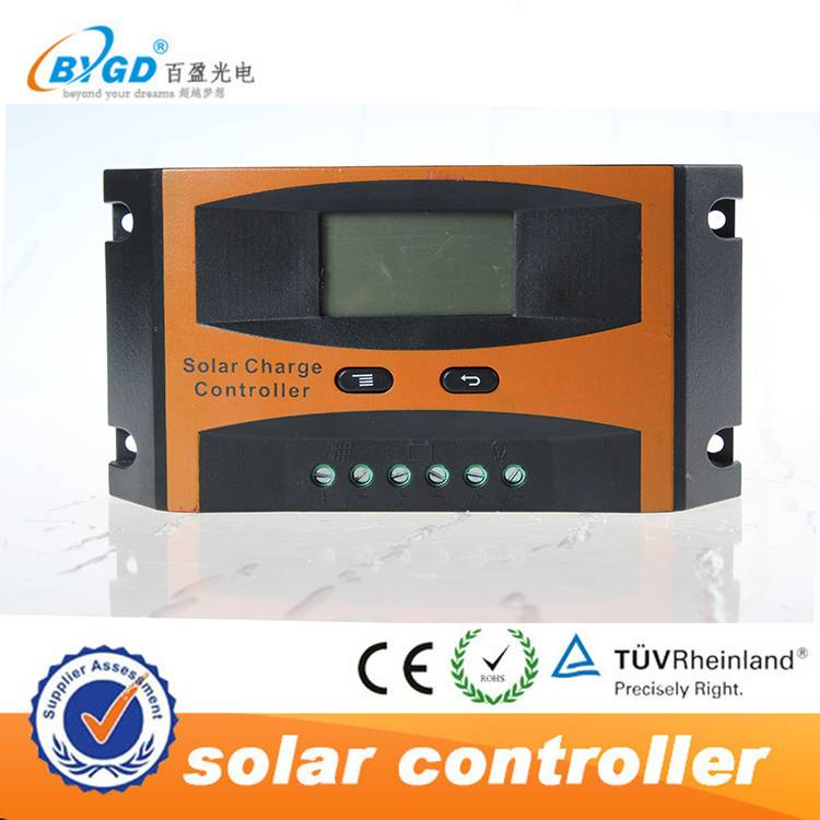 factory price 30a solar panel charge controller