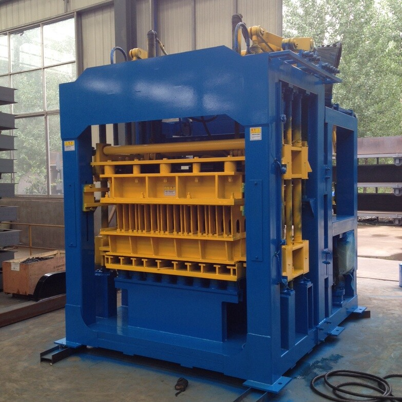 QT10-15 Full automatic concrete hollow block making machine paver brick making machine