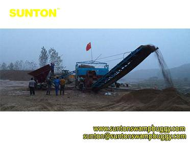 50m3hr Sand Screening Machine