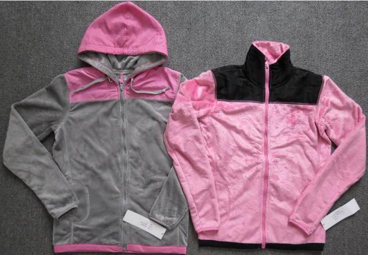 Nice garment stock lot offer, 66,894pcs Men's&Ladies double-faced pile track sportswear TC1-656