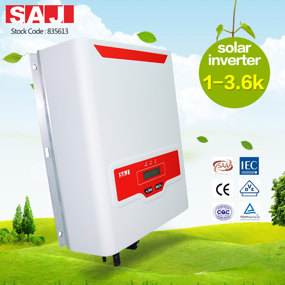 SAJ Rooftop Single phase 1 MPPT On-grid solar inverter 1500W for solar rooftops