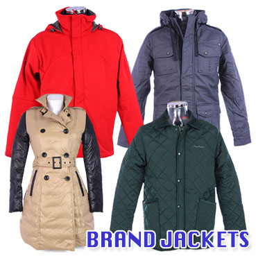 Multibranded women's/men's jackets