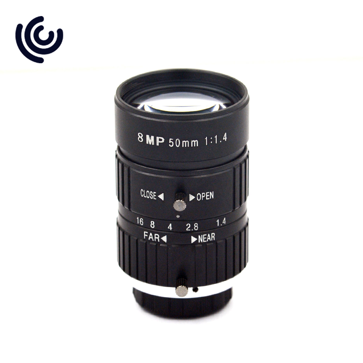 "8MP 1"" 50mm F1.4 C mount Machine Vision Lens"