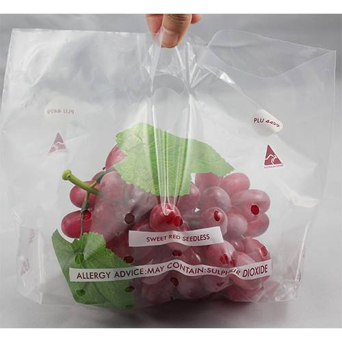LDPE Punched Seedless Grape Bag